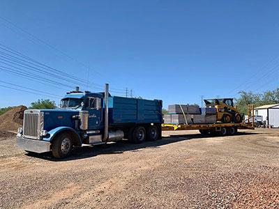 Landscape Supply Delivery Services Peoria Sun City Surprise Buckeye Az